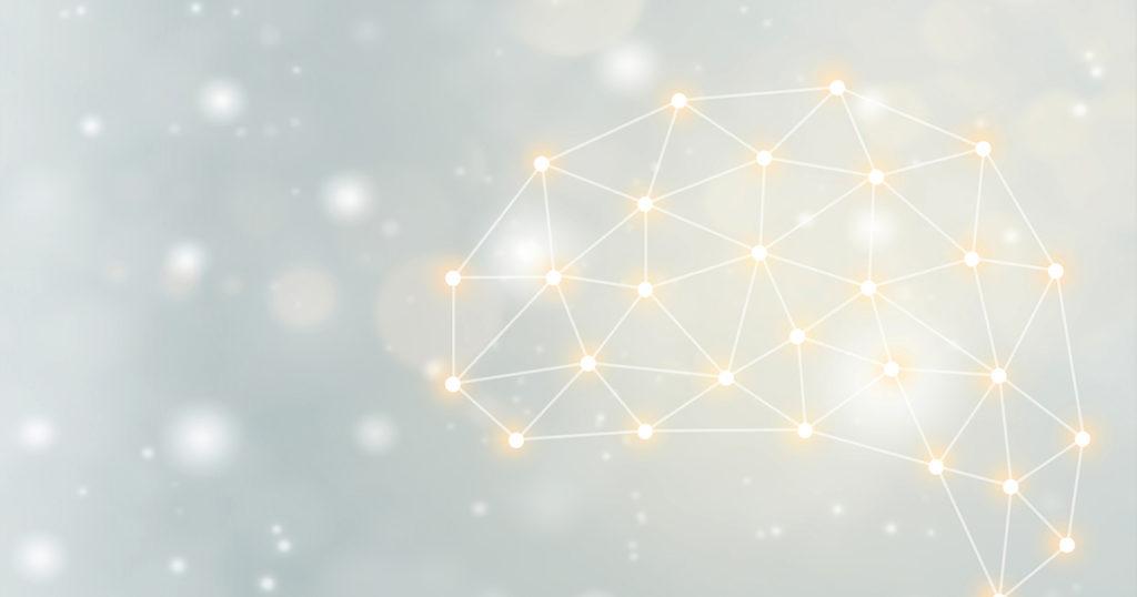 brain network against galaxies